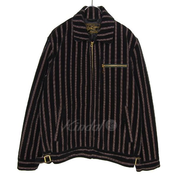 【中古】CALLE 中綿ジップアップワークジャケット ブラック×ピンク サイズ:M 【送料無料】 【230718】(キャリー)