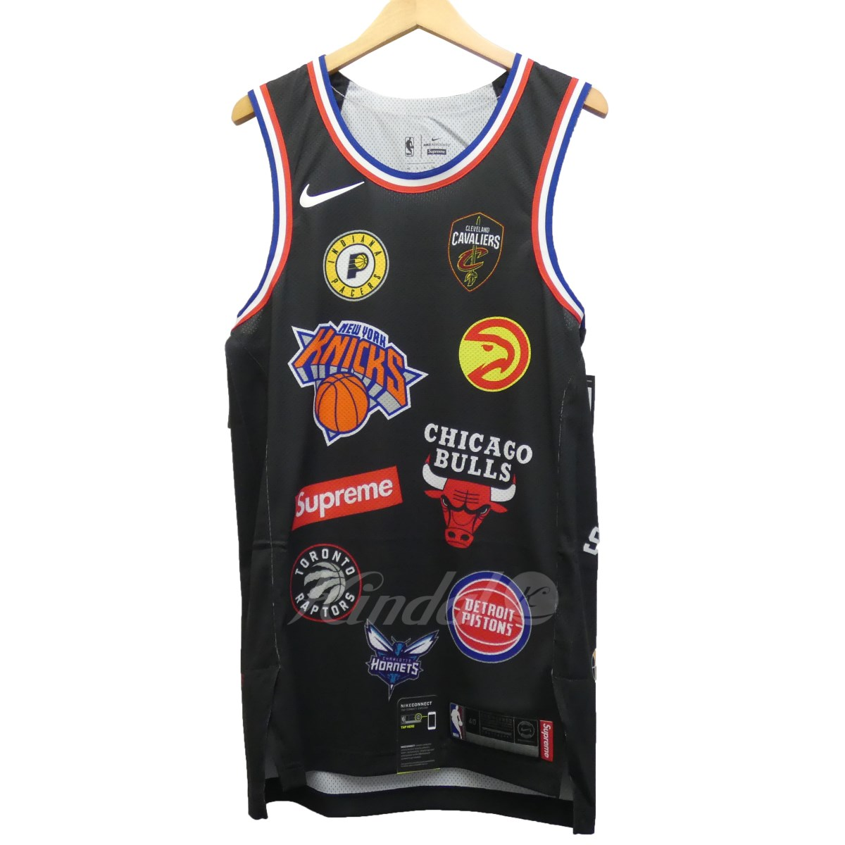 official photos 09d3d 541bf Image is loading Supreme-Nike-18Ss-Nba-Teams-Jersey-Tank-Top-