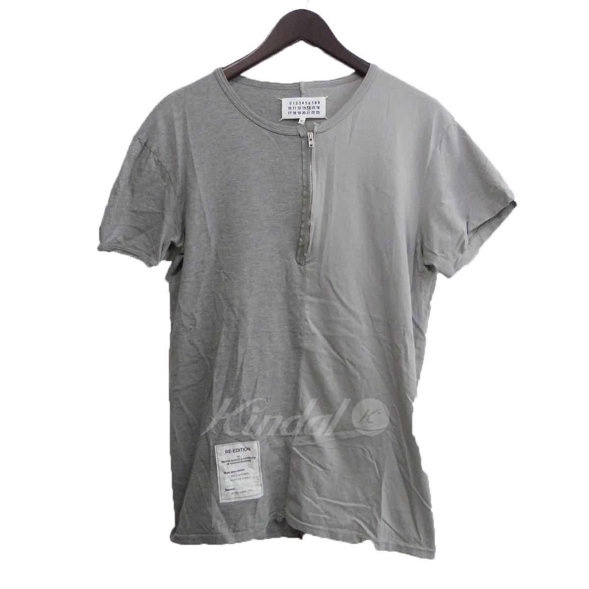 人気絶頂 【中古】Martin Margiela14 グレー 17AW 「Asymmetric T-shirt」アシンメトリーTシャツ グレー サイズ:52 17AW【送料無料【中古】Martin】【280718】(マルタン・マルジェラ14), 家具インテリア館:f1245912 --- smotri-delay.com