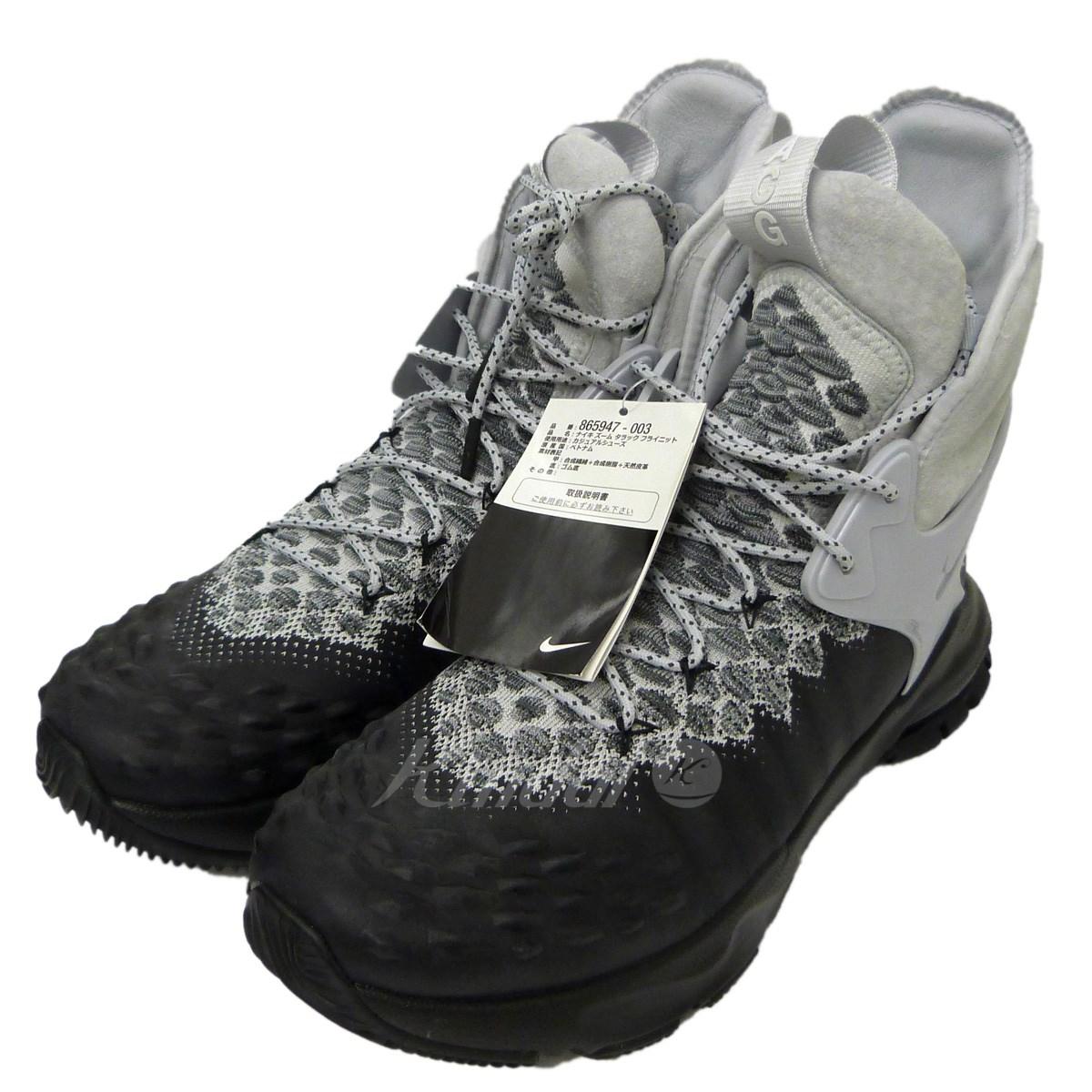 【中古】NikeLab ACG 「ZOOM TALLAC FLYKNIT」スニーカー ブラック×ホワイト サイズ:28cm 【送料無料】 【280718】(ナイキラボ エーシージー)