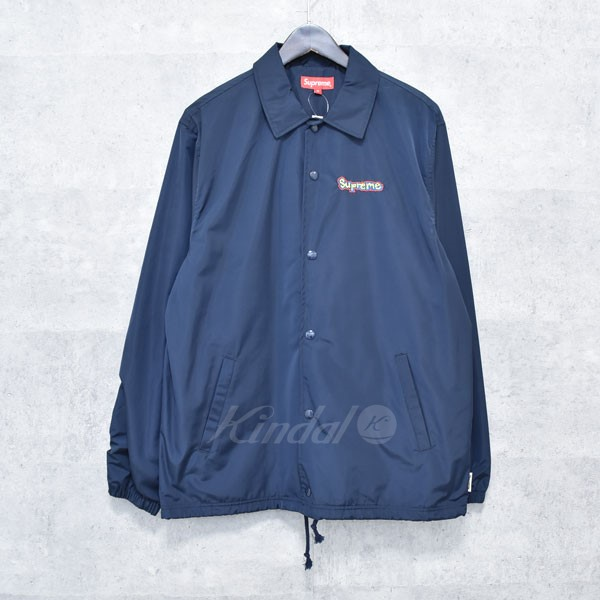 【中古】SUPREME 18SS Gonz Logo Coaches Jacket コーチジャケット 【送料無料】 【129308】 【KIND1550】