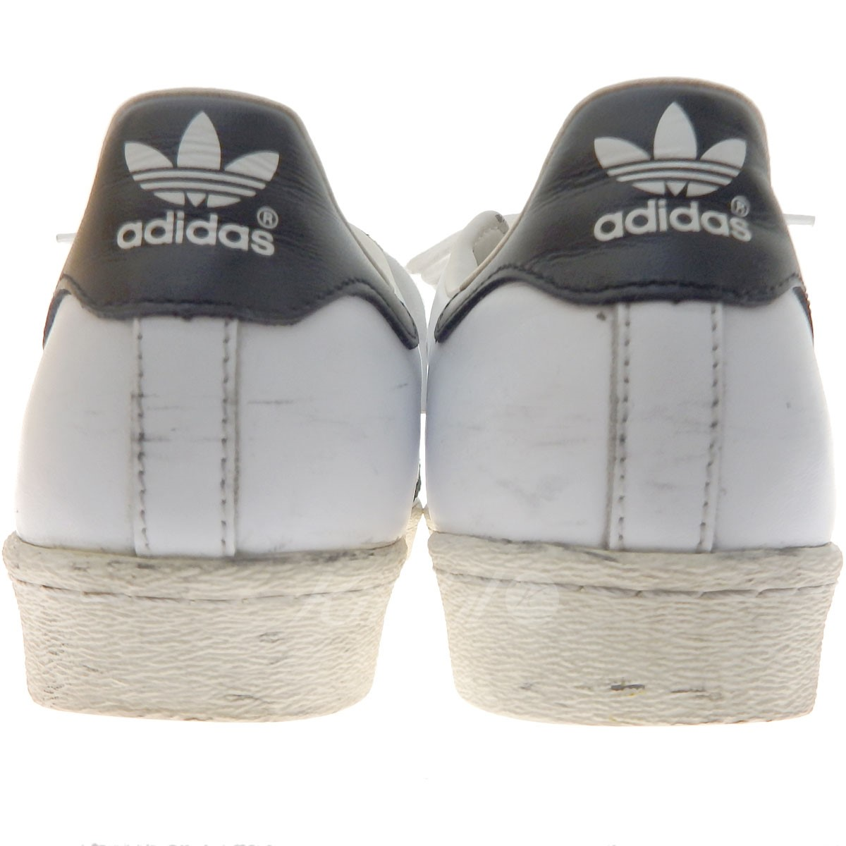 adidas SUPERSTAR 80s low-frequency cut sneakers white X black size: 26. 5cm (Adidas)