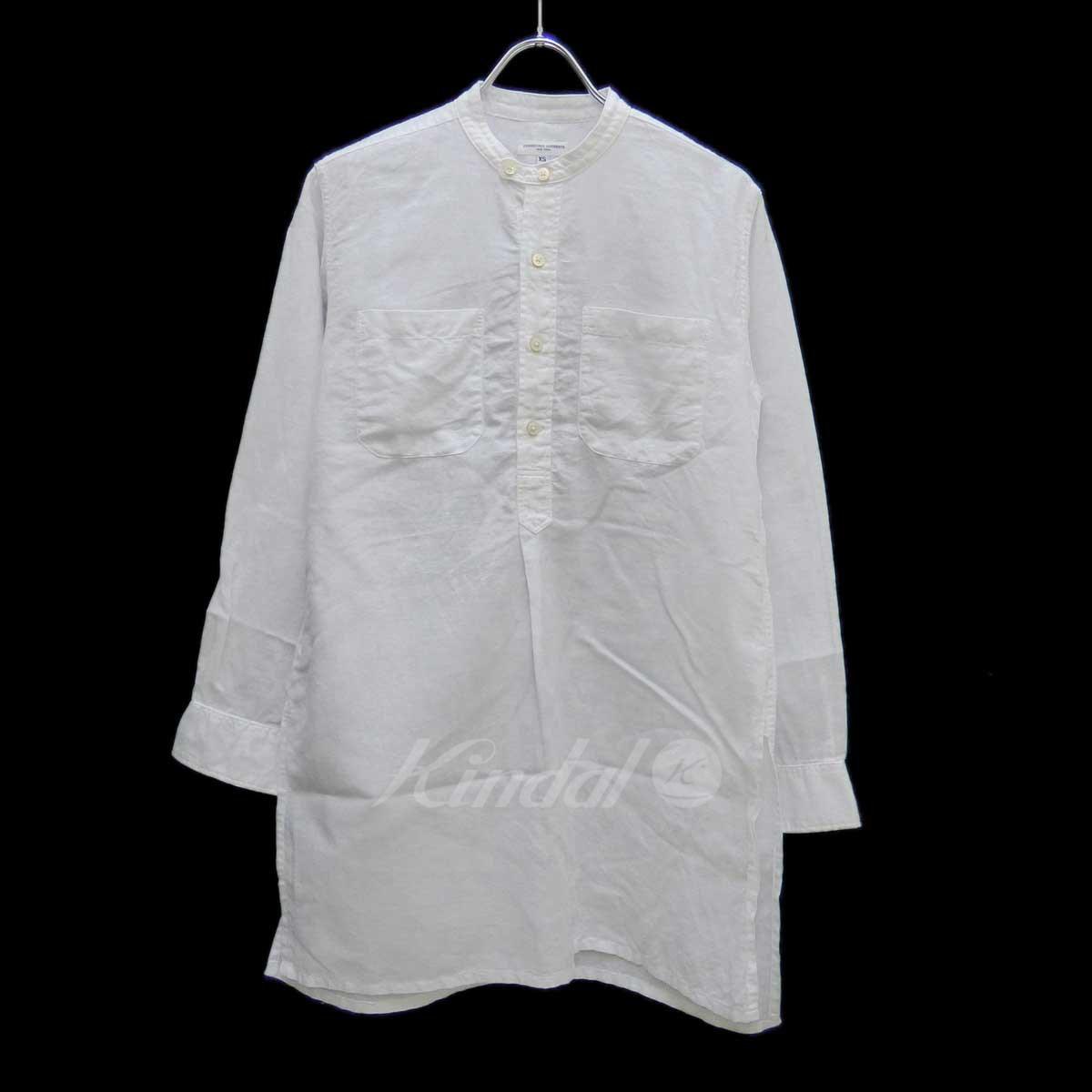 期間限定特別価格 【中古】Engineered Garments ホワイト Banded Long Banded Collar Garments Shirts ロングシャツ ホワイト サイズ:XS【送料無料】【300718】(エンジニアードガーメンツ), WISERS:ef6c0193 --- bestfriends.forumfamilly.com