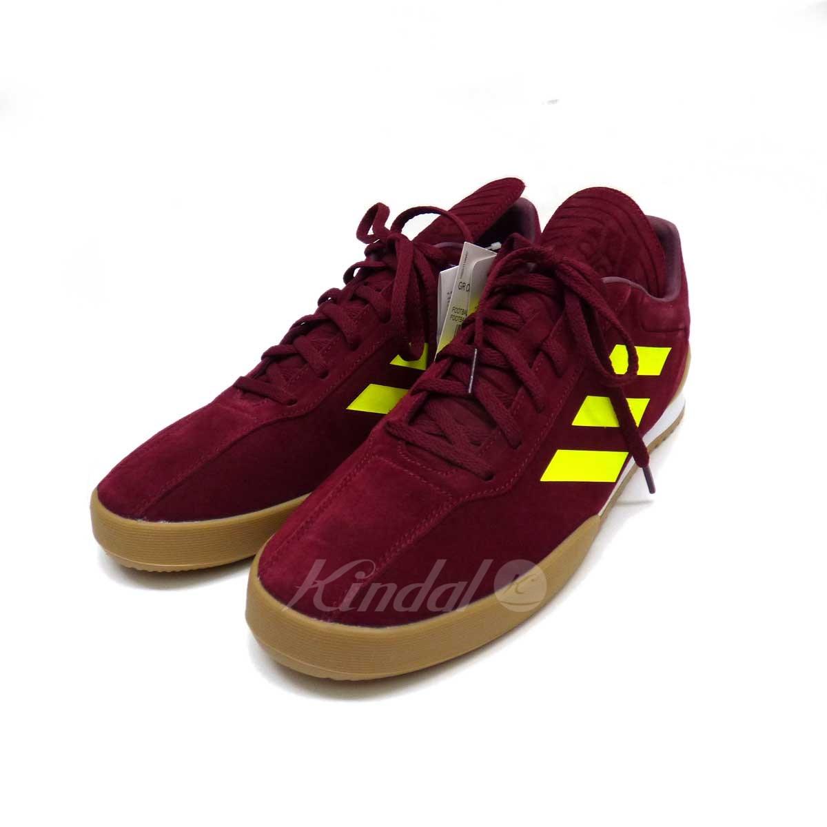 【中古】Gosha Rubchinskiy×adidas CopaSuperSneaker スニーカー ボルドー サイズ:29 【送料無料】 【300718】(ゴーシャラブチンスキー アディダス)