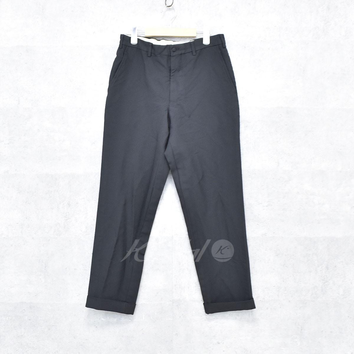 【2019春夏新色】 【中古】COMME des GARCONS HOMME ブラック DEUX 縮絨パンツ DEUX 縮絨パンツ ブラック サイズ:M【送料無料】【040818】(コムデギャルソンオムドゥ), モテギマチ:482f342c --- gipsari.com