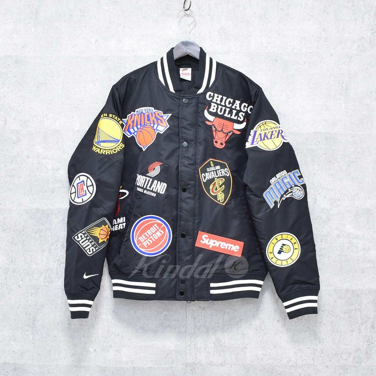 【中古】SUPREME×NIKE 18SS NBA warm jacket ウォームアップジャケット 【送料無料】 【184154】 【KIND1550】