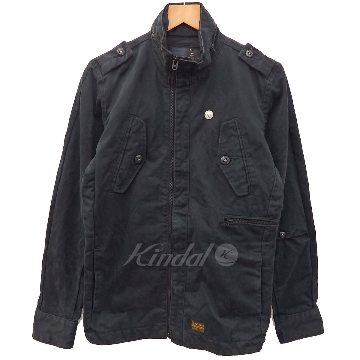 0d042b53e69 kindal  G-STAR RAW MARKER SHIRT L S zip blouson black size  M (G ...