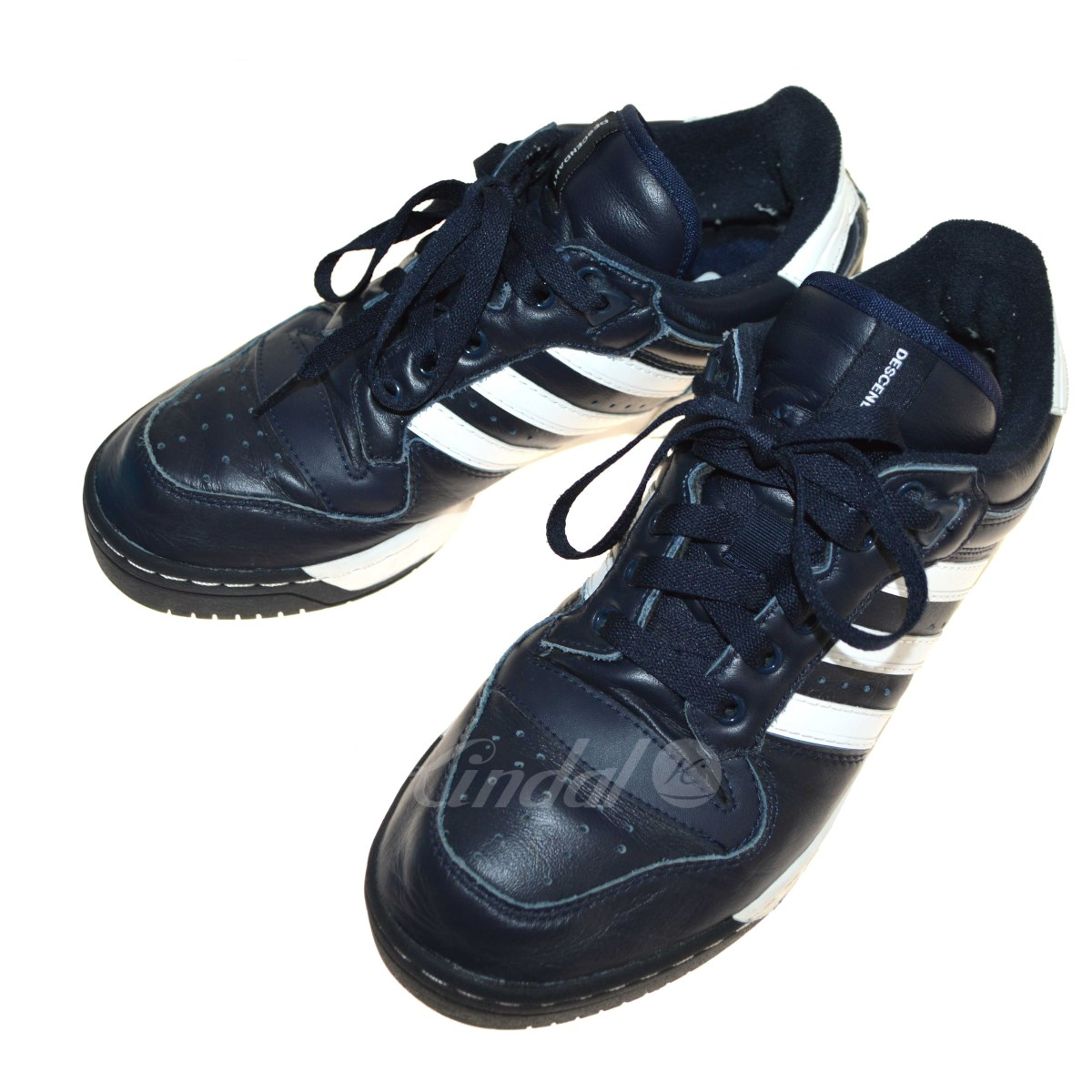 【中古】DESCENDANT 18SS ×adidas RIVILRY LO DESCENDANT スニーカー 【送料無料】 【085960】 【KIND1641】