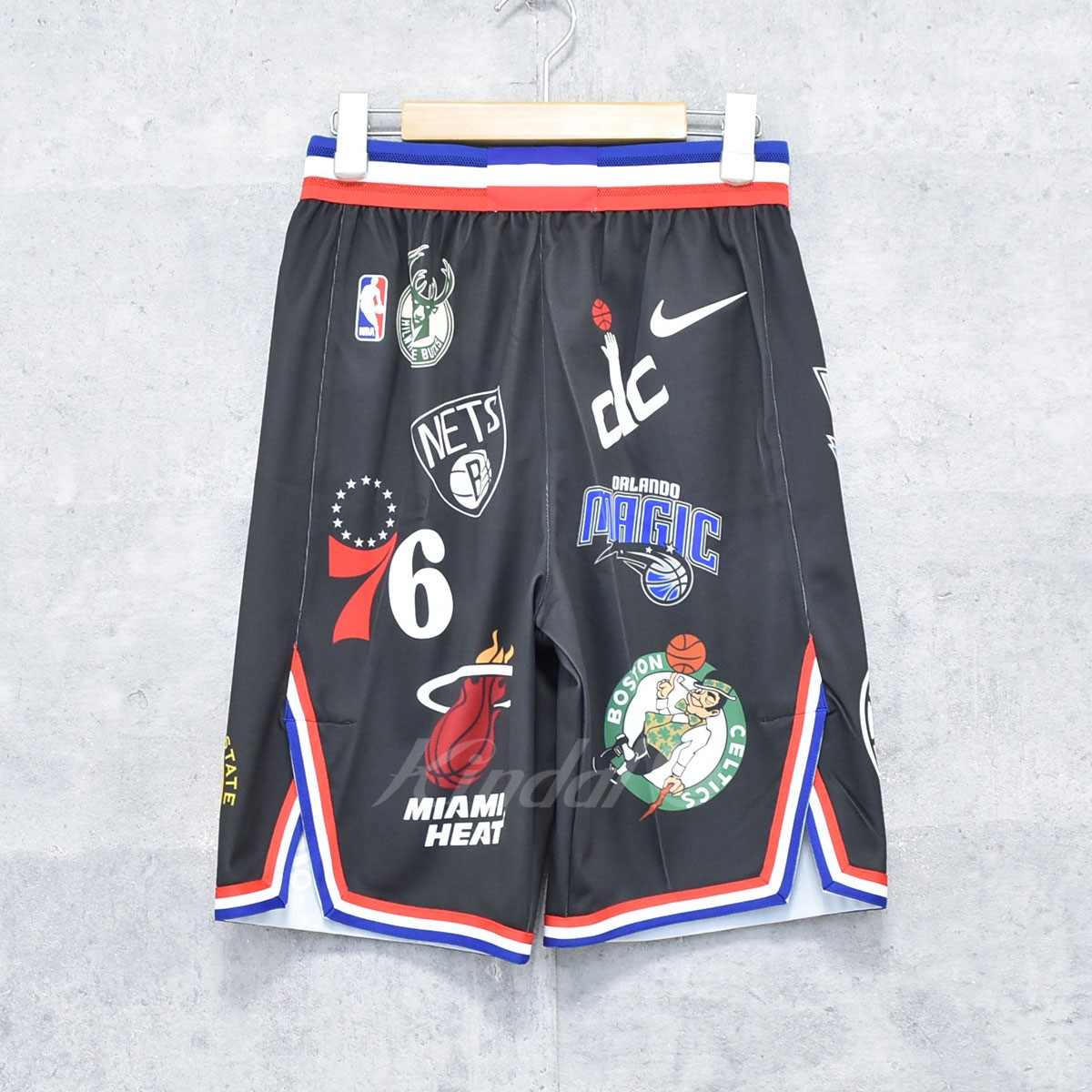 【中古】SUPREME×NIKE 18SS NBA TEAMS AUTHENTIC SHORT  ハーフパンツ 【送料無料】 【189852】 【KIND1550】