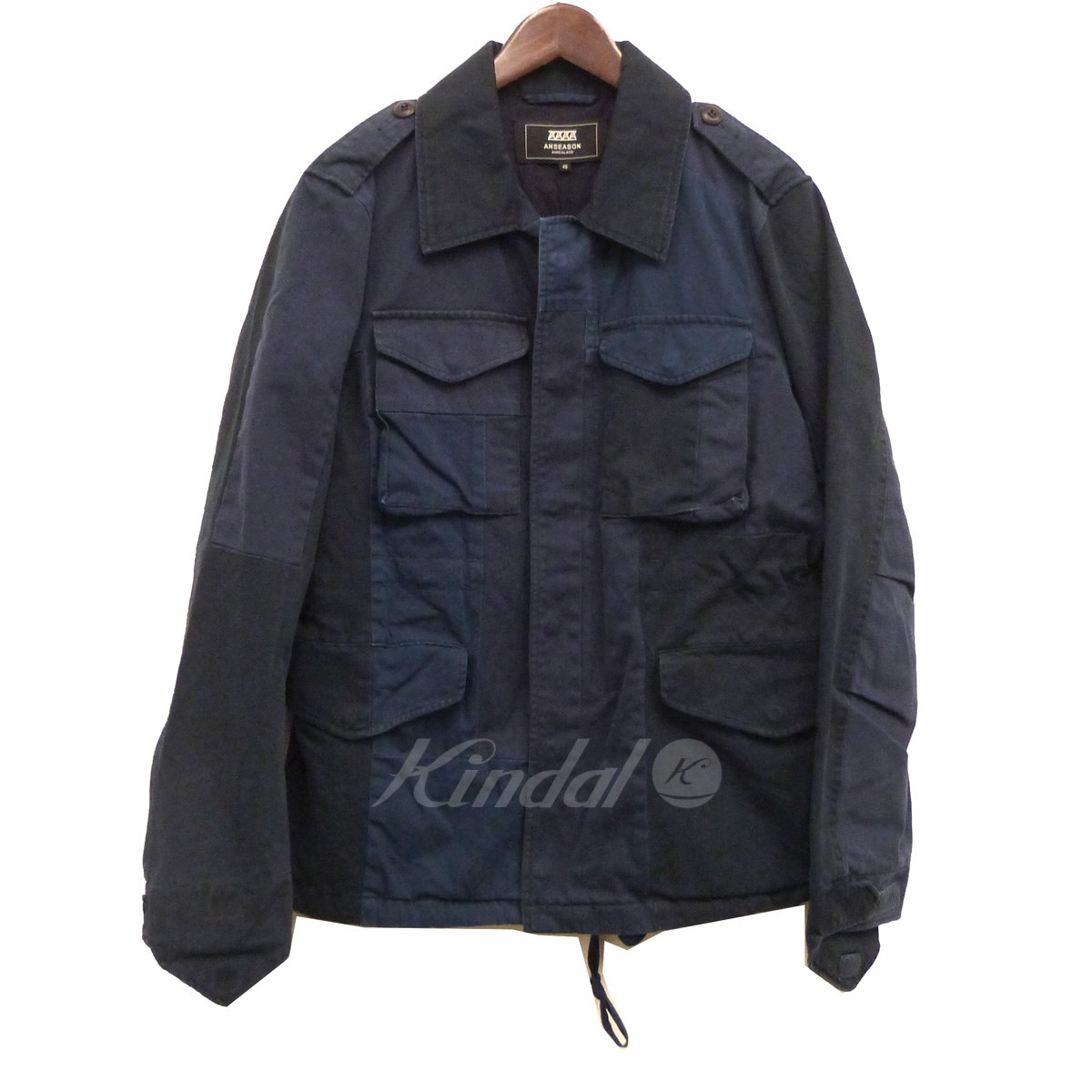 【中古】ANSEASON ANREALAGE 17AW「PANEL PATCHWORK M-51」パネルパッチワークM-51 【送料無料】 【099941】 【KIND1550】