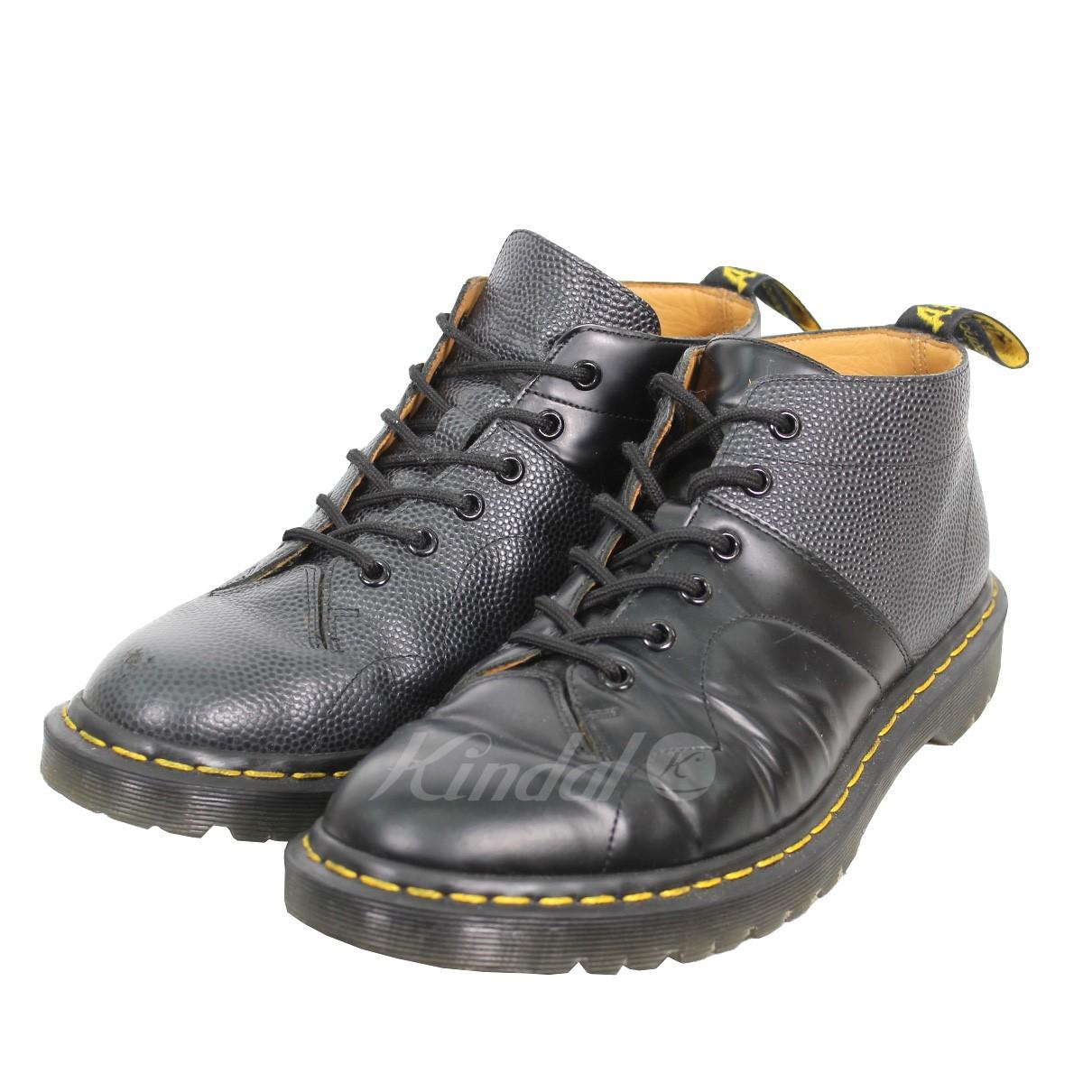 【中古】Engineered Garments 17AW Church Lace Low Boot アシンメトリーチャーチレースブーツ 【送料無料】 【002156】 【KIND1550】