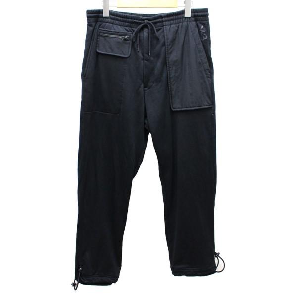 【中古】Y-3 スウェットパンツ ブラック サイズ:M 【送料無料】 【150818】(ワイスリー)