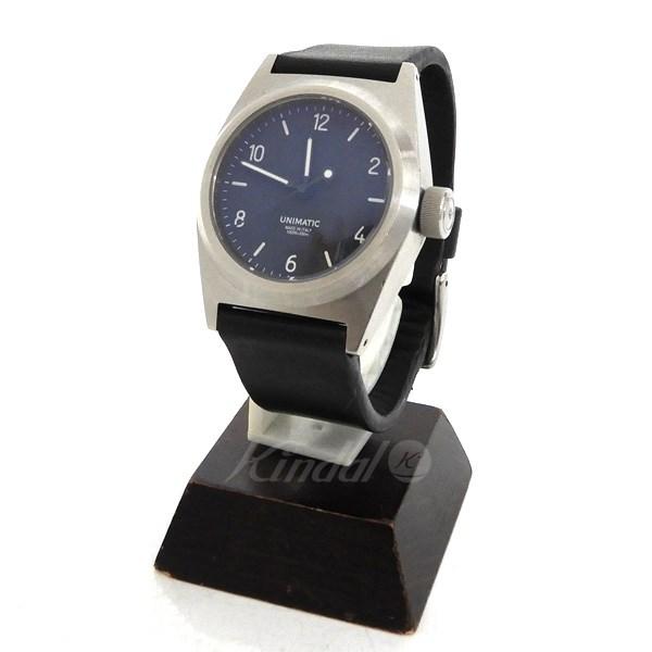 【中古】UNIMATIC 「U2-AB」オートマティック腕時計 【送料無料】 【111545】 【KIND1490】