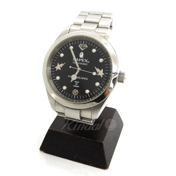 【中古】A BATHING APE BAPEX サルマリーナ腕時計 【送料無料】 【111651】 【KIND1490】