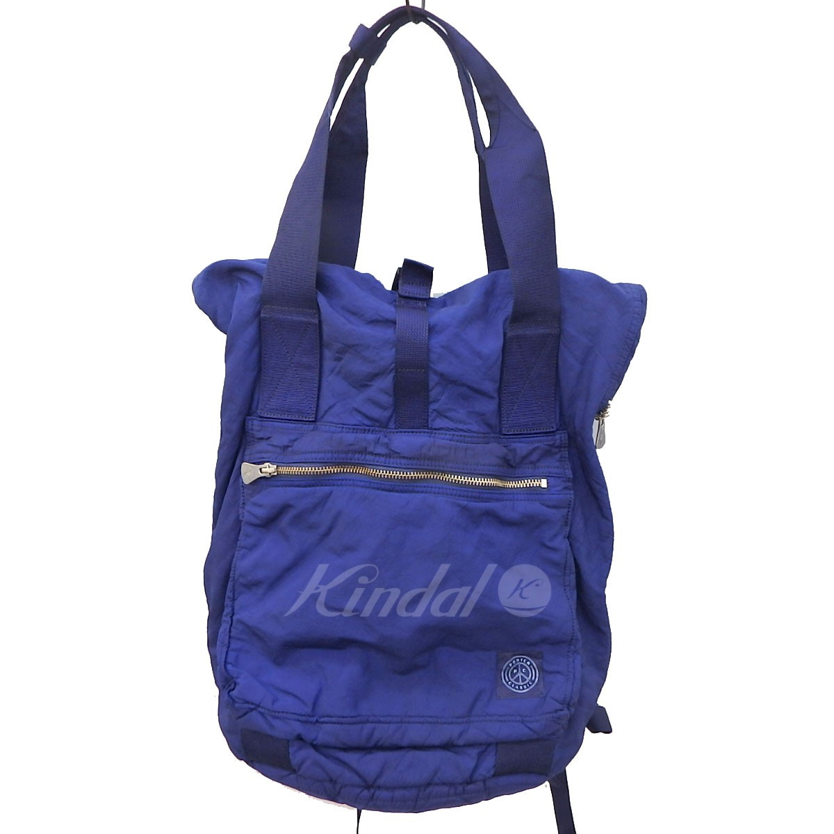 【中古】Porter Classic ×REBIRTH PROJECT AIR BACK インディゴ染め2WAYバック 【送料無料】 【088077】 【KIND1550】