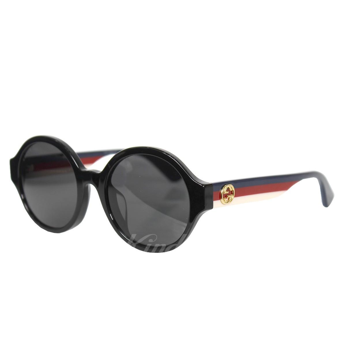 【中古】GUCCI 18SS トリコロールデザインサングラス 【送料無料】 【002157】 【KIND1550】