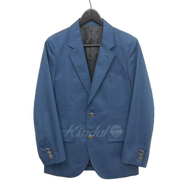 【中古】WACKO MARIA 2Bテーラードジャケット ネイビー サイズ:S 【送料無料】 【210818】(ワコマリア)