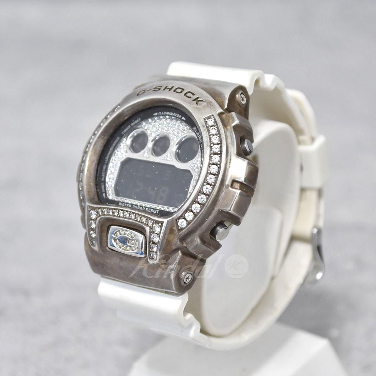 【中古】CASIO G-SHOCK デジタル腕時計 G-BALLER製カスタム DW-6900NB 【送料無料】 【191121】 【KIND1490】