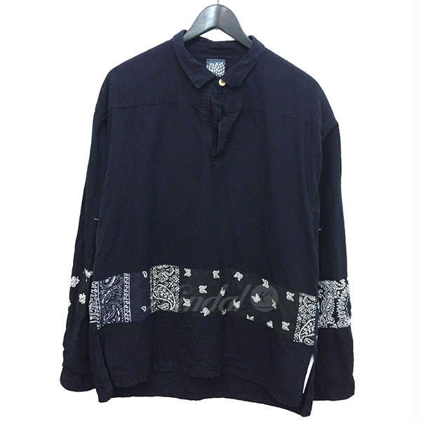 【中古】VISVIM 2016 I.C.T KERCHIEF BODERTUNIC バンダナ シャツ 【送料無料】 【002887】 【KIND1499】