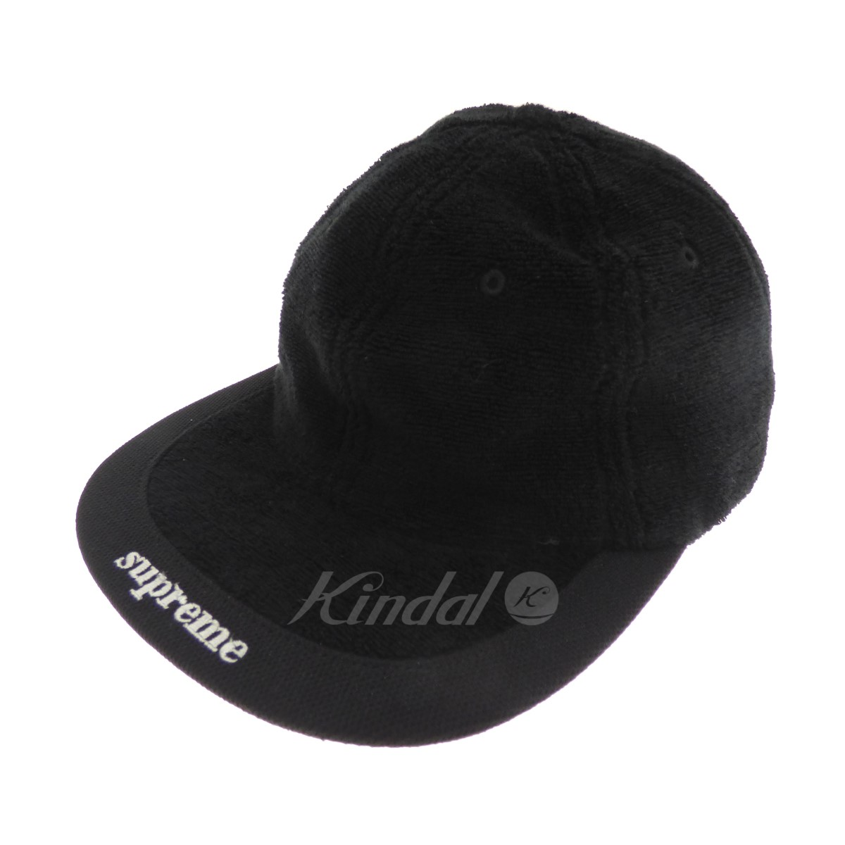 【中古】SUPREME 【2018S/S】 Terry Visor Logo 6-Panel Cap キャップ 【送料無料】 【089696】 【KIND1490】