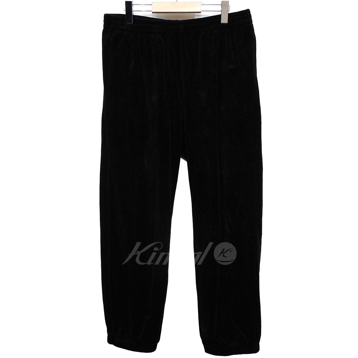 【中古】SUPREME 17AW Velour Warm Up Pant 【送料無料】 【002029】 【KIND1550】