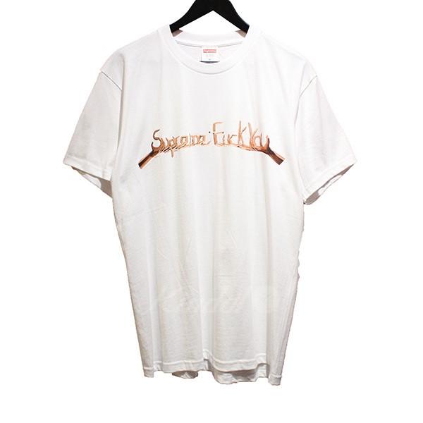 【中古】SUPREME 2018AW Fuck You Tee ファックユー Tシャツ ホワイト サイズ:M 【送料無料】 【250818】(シュプリーム)