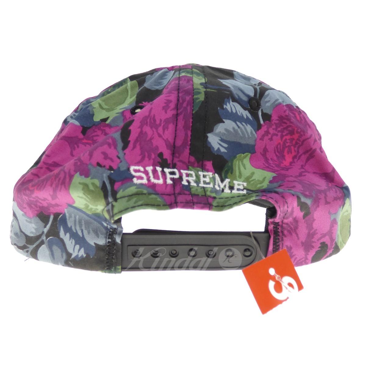 a03cb4f009d kindal  SUPREME Floral 5-panel cap