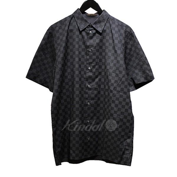 【中古】LOUIS VUITTON ダミエグラフィット 半袖シャツ 【送料無料】 【001714】 【KIND1499】