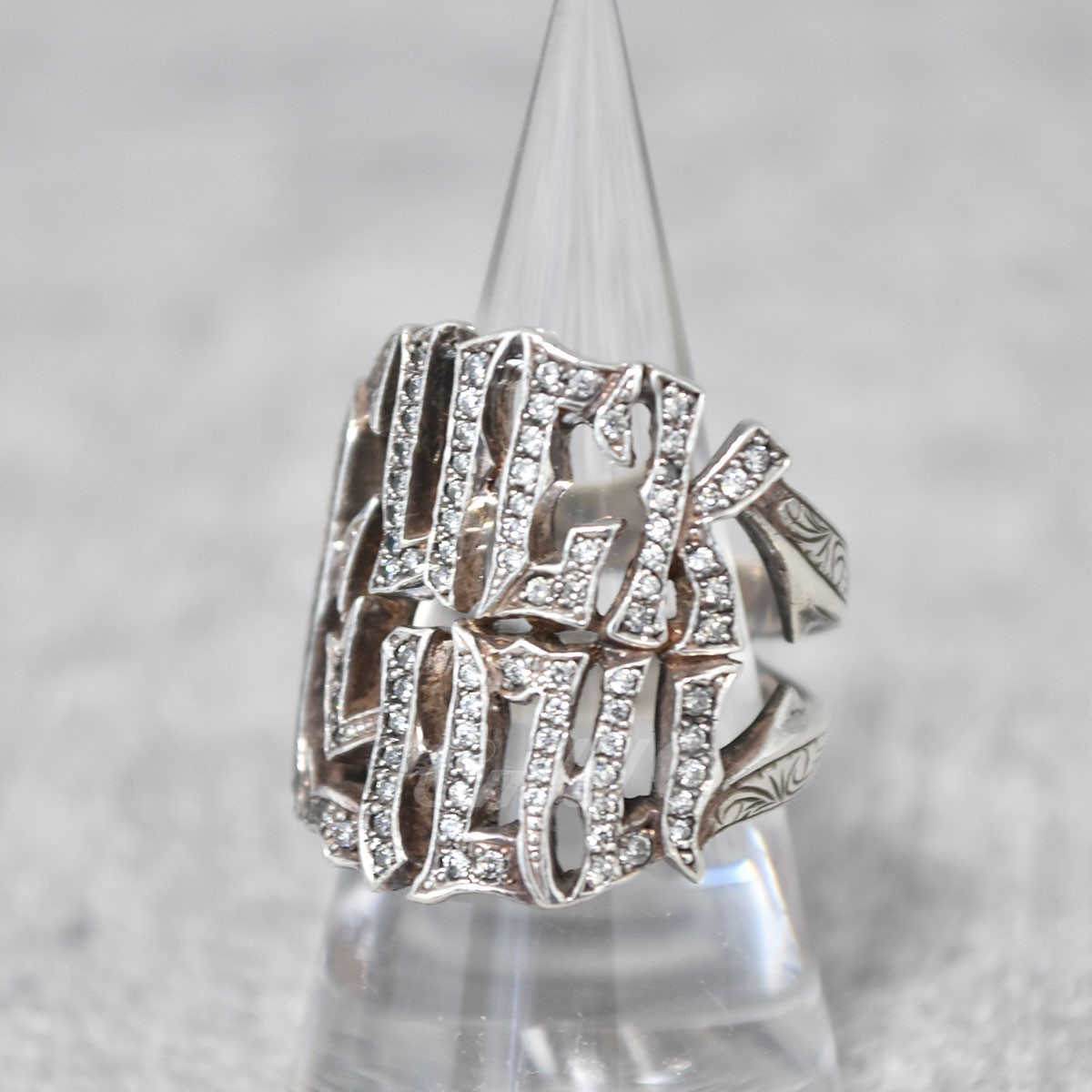 【中古】Loree Rodkin リング ETCHED PAVE FUCK YOU RING 【送料無料】 【203046】 【KIND1550】