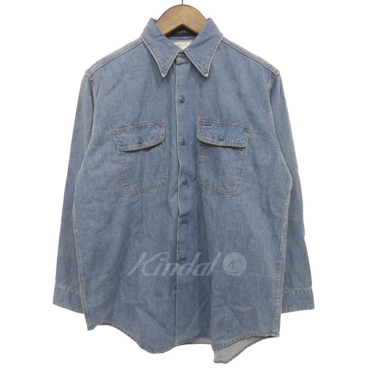 【中古】MADISON BLUE 【2017S/S】 HAMPTON SHIRT D/DENIM デニムシャツ 【送料無料】 【098216】 【KIND1499】