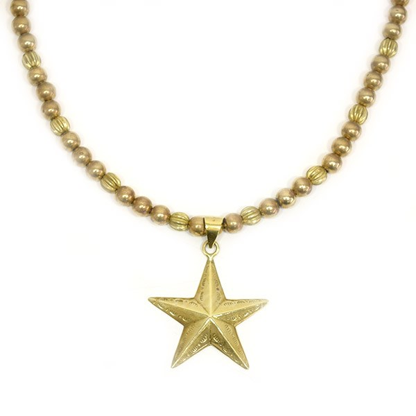 【中古】CALEE JEWELRY BEADS STAR NECKLACE CL-16S046AC 【送料無料】 【005800】 【KIND1550】