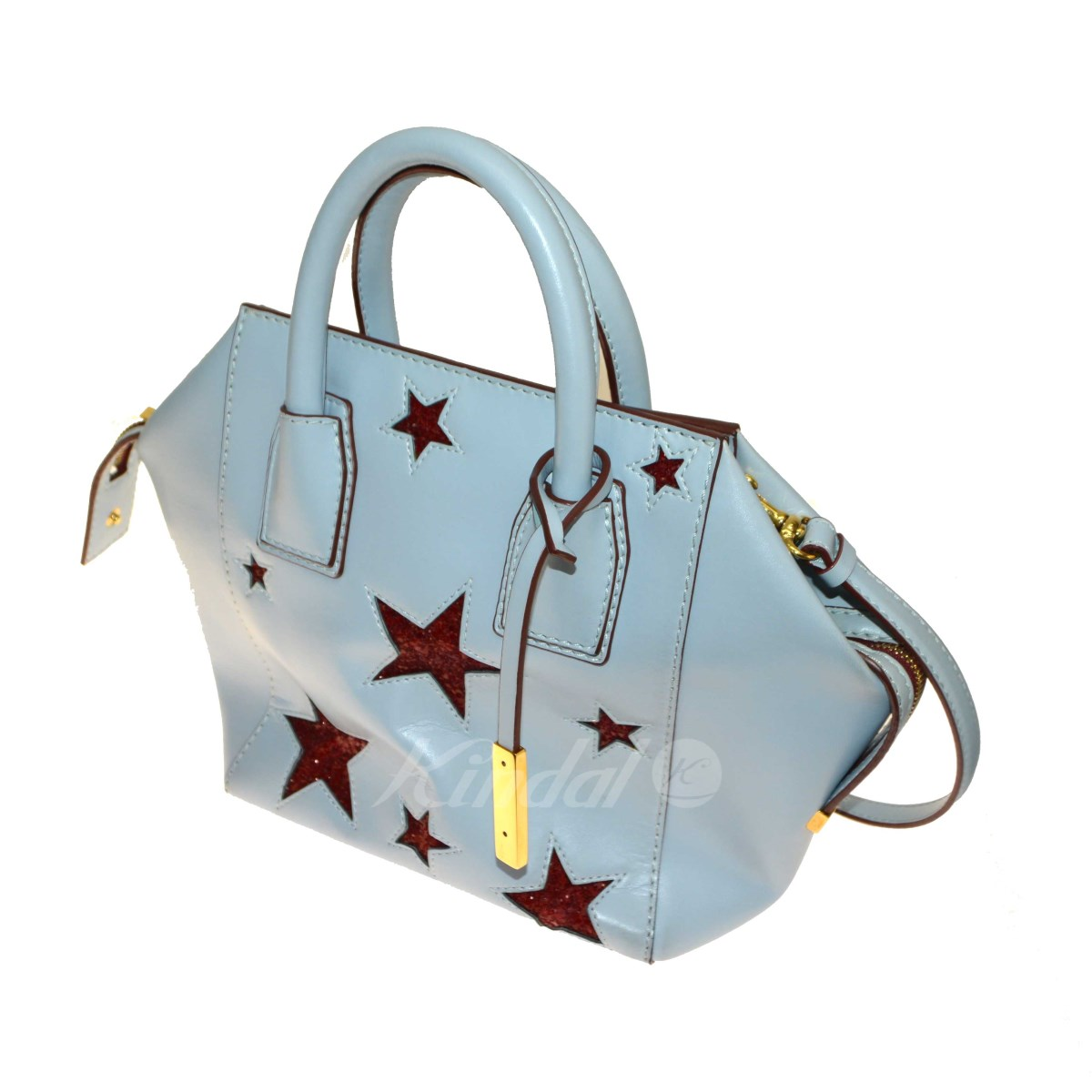 【中古】STELLA McCARTNEY 2WAY Star Shoulder bag 【送料無料】 【096096】 【KIND1550】