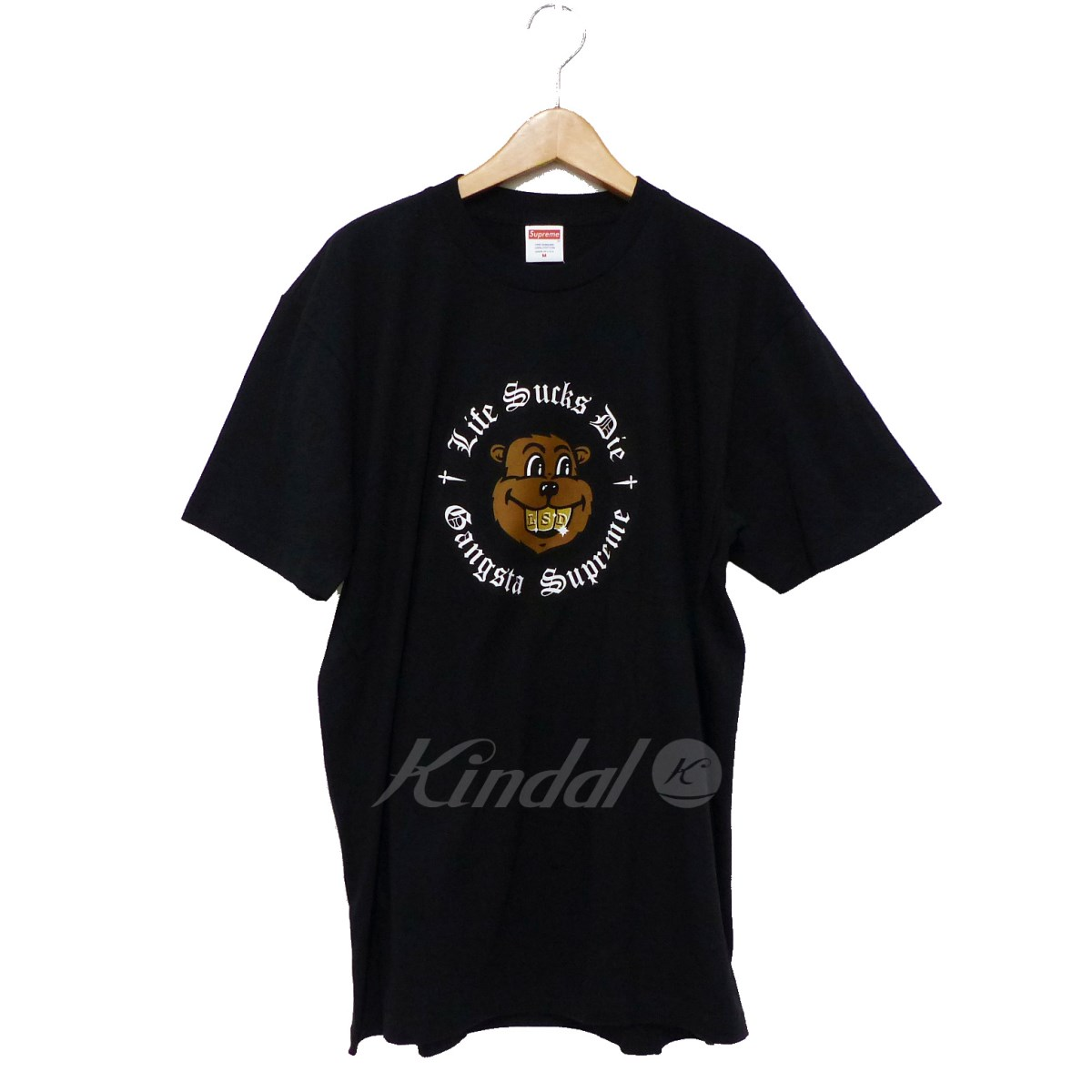 【中古】SUPREME 2018AW Life Sucks Die Tee 【送料無料】 【207631】 【KIND1550】