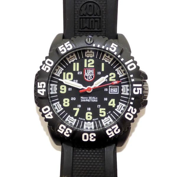 【中古】LUMINOX ネイビーシールズ クォーツ腕時計 【送料無料】 【035985】 【KIND1550】