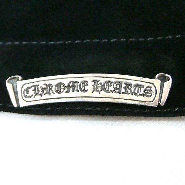 2d3749ae643 CHROME HEARTS chrome Hertz suede leather beanie knit cap hat black (chromic  Hertz)