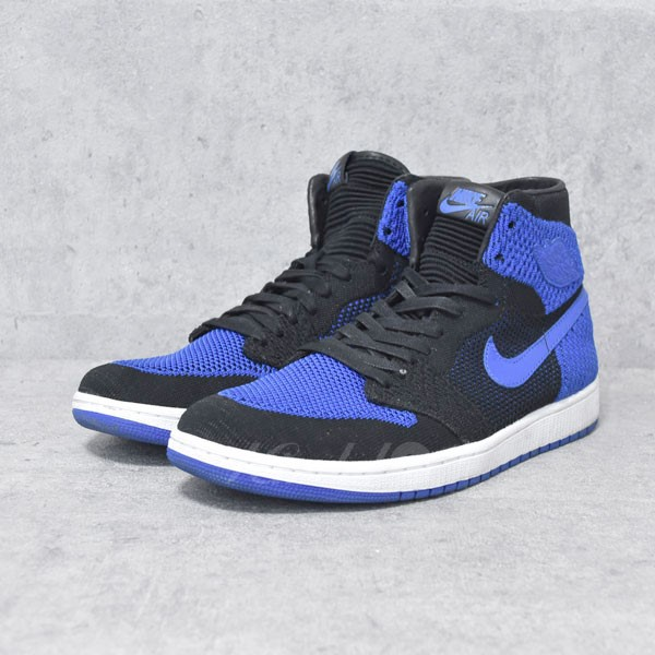 【中古】NIKE スニーカー AIR JORDAN 1 RETRO HI FLYKNIT 919704-006 【送料無料】 【211416】 【KIND1550】