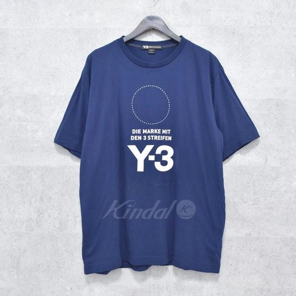 【中古】Y-3 Tシャツ M STACKED LOGO SS TEE 【送料無料】 【214707】 【KIND1550】