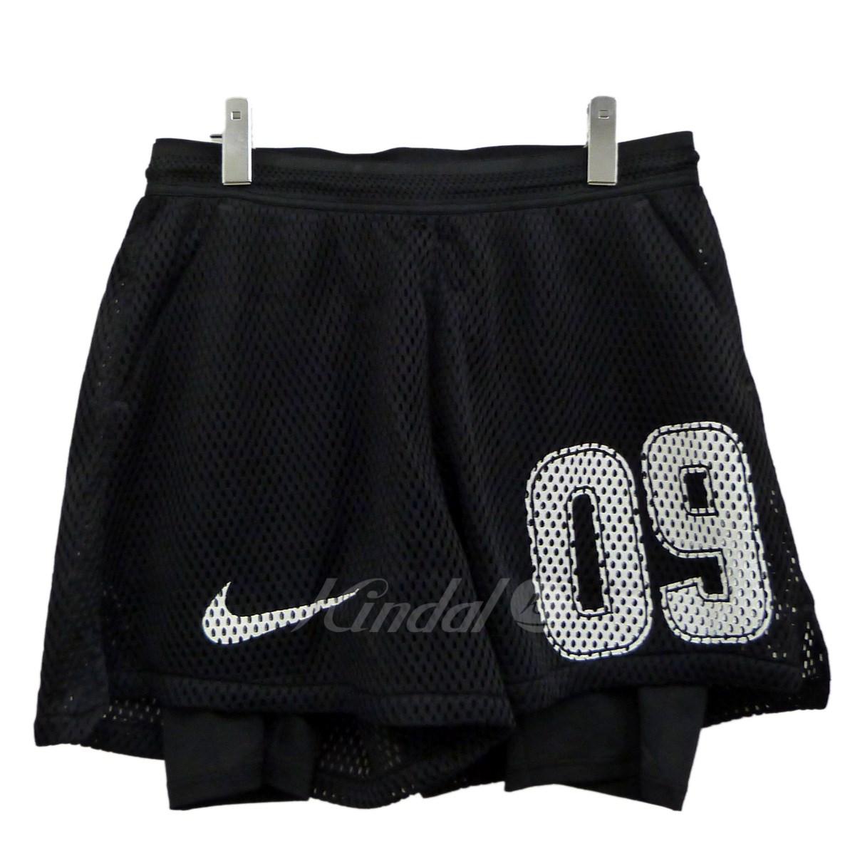 【中古】OFFWHITE×NIKE 18SS Football Collection「HOME SHORT」メッシュショーツ 【送料無料】 【110134】 【KIND1550】
