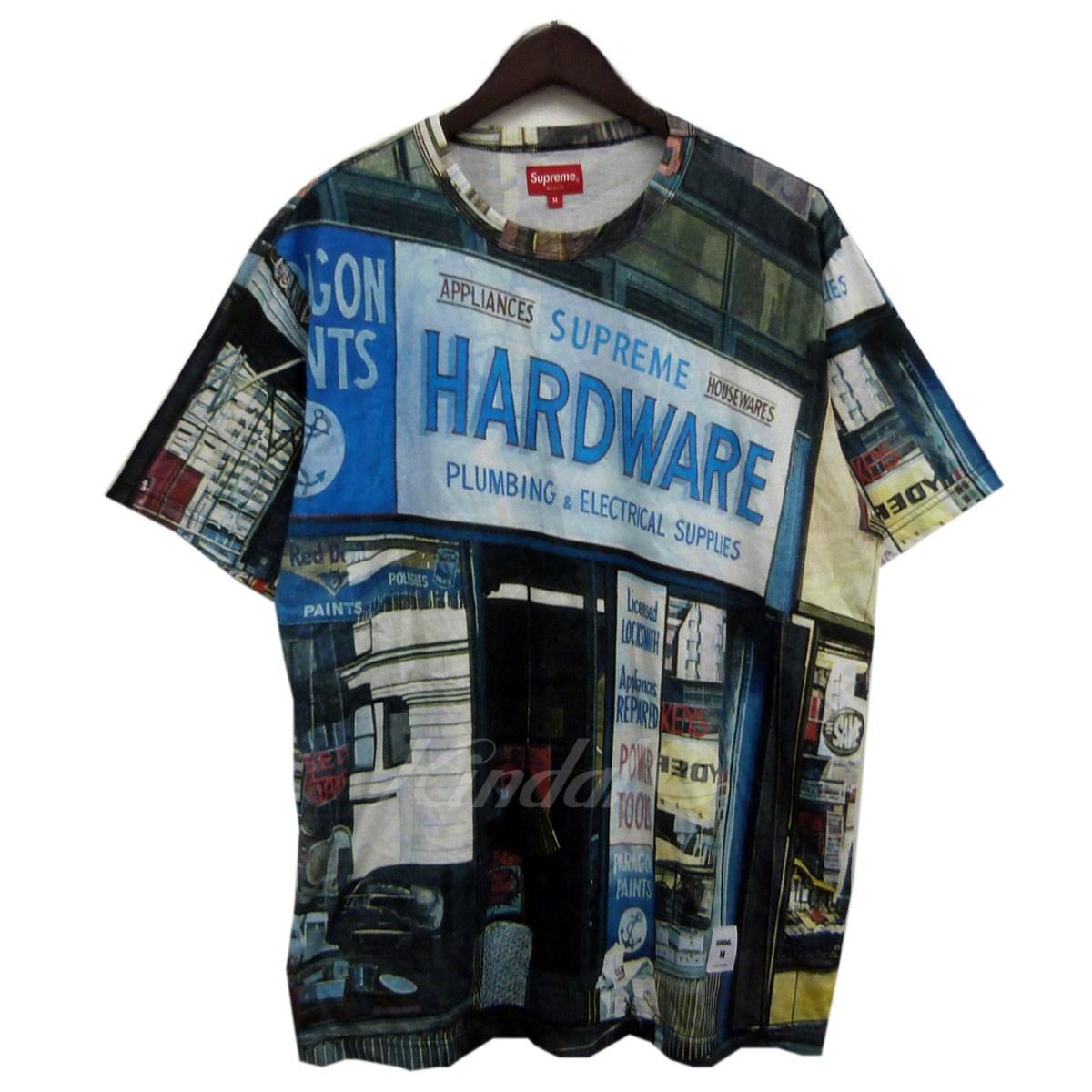 【中古】SUPREME 18SS「Hardware S/S Top」プリントTシャツ 【送料無料】 【110493】 【KIND1550】