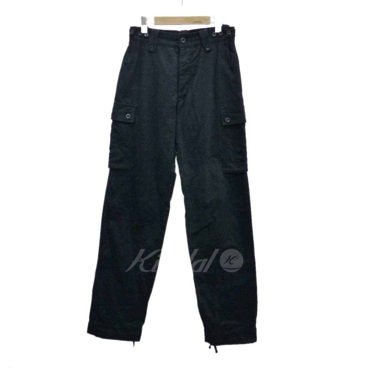 【中古】Y's for men カーゴパンツ ブラック サイズ:1 【送料無料】 【050918】(ワイズフォーメン)