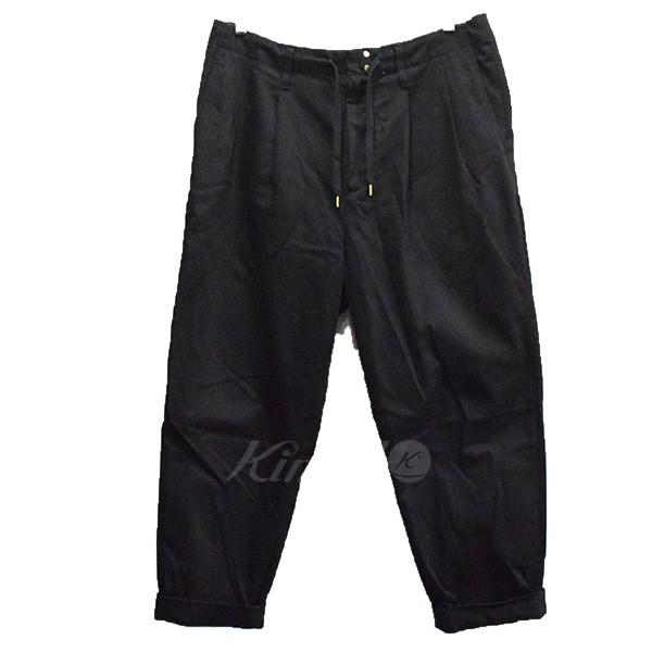 【中古】ROTOL テーパードパンツ ブラック サイズ:M 【送料無料】 【090918】(ロトル)