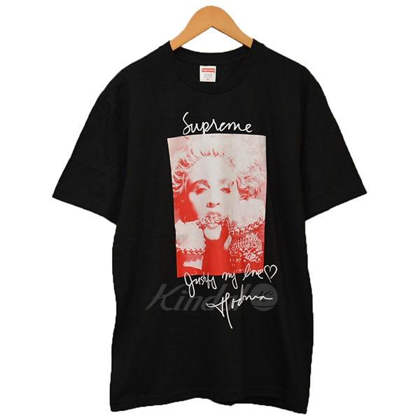 【中古】Supreme 2018AW Madonna Tee マドンナ Tシャツ ブラック サイズ:M 【送料無料】 【090918】(シュプリーム)