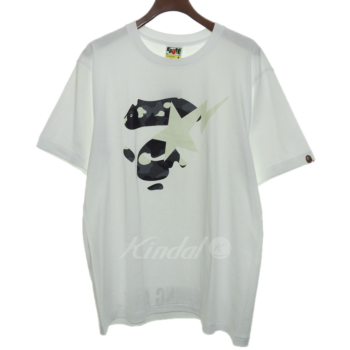 【中古】A BATHING APE 18AW「CITY CAMO APEFACE ON BAPESTA TEE」エイプフェイスTシャツ 【送料無料】 【114805】 【KIND1550】