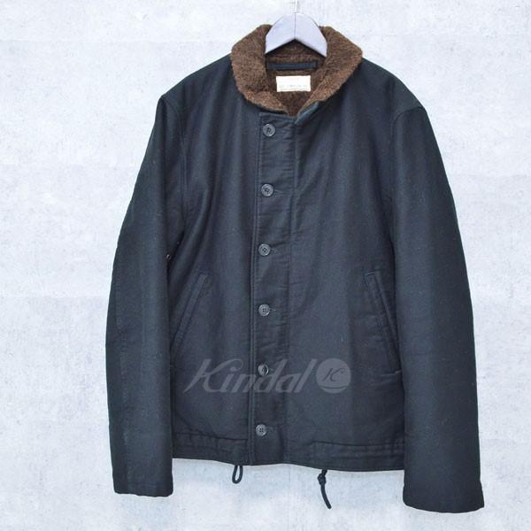 【中古】COOTIE デッキジャケット ブラック サイズ:XL(46-48) 【送料無料】 【110918】(クーティー)