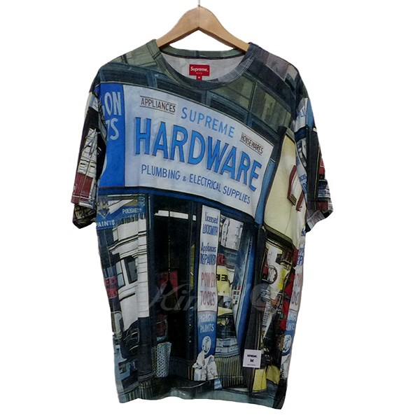 【中古】SUPREME 2018SS HARDWARES S/S TOP Tシャツ 【送料無料】 【188350】 【KIND1550】