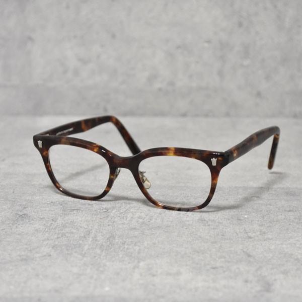 【中古】UNIFORM EXPERIMENT 泰八郎謹製 GLASSES 眼鏡 レンズカラー:クリア、フレームカラー:ブラウン 【送料無料】 【130918】(ユニフォームエクスペリメント)