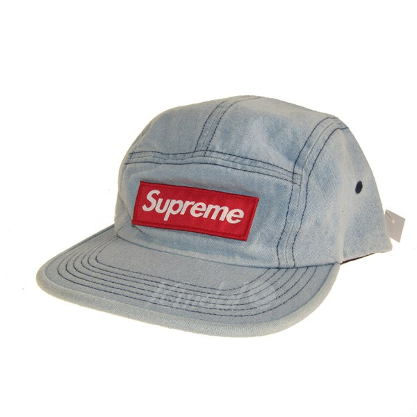 【中古】SUPREME 2018A/W Washed Chino Twill Camp Cap/キャンプキャップ 【送料無料】 【025562】 【KIND1500】