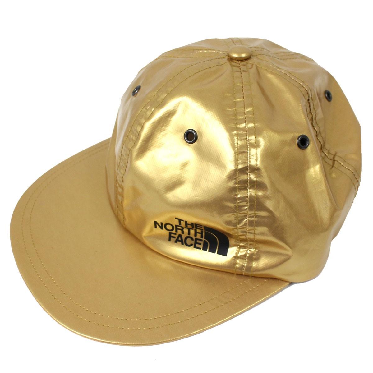 【中古】Supreme×The North Face Metallic 6-Panel Cap NN418051 メタリックキャップ 帽子 ゴールドメタリック サイズ:F 【送料無料】 【140918】(シュプリーム ザノースフェイス)