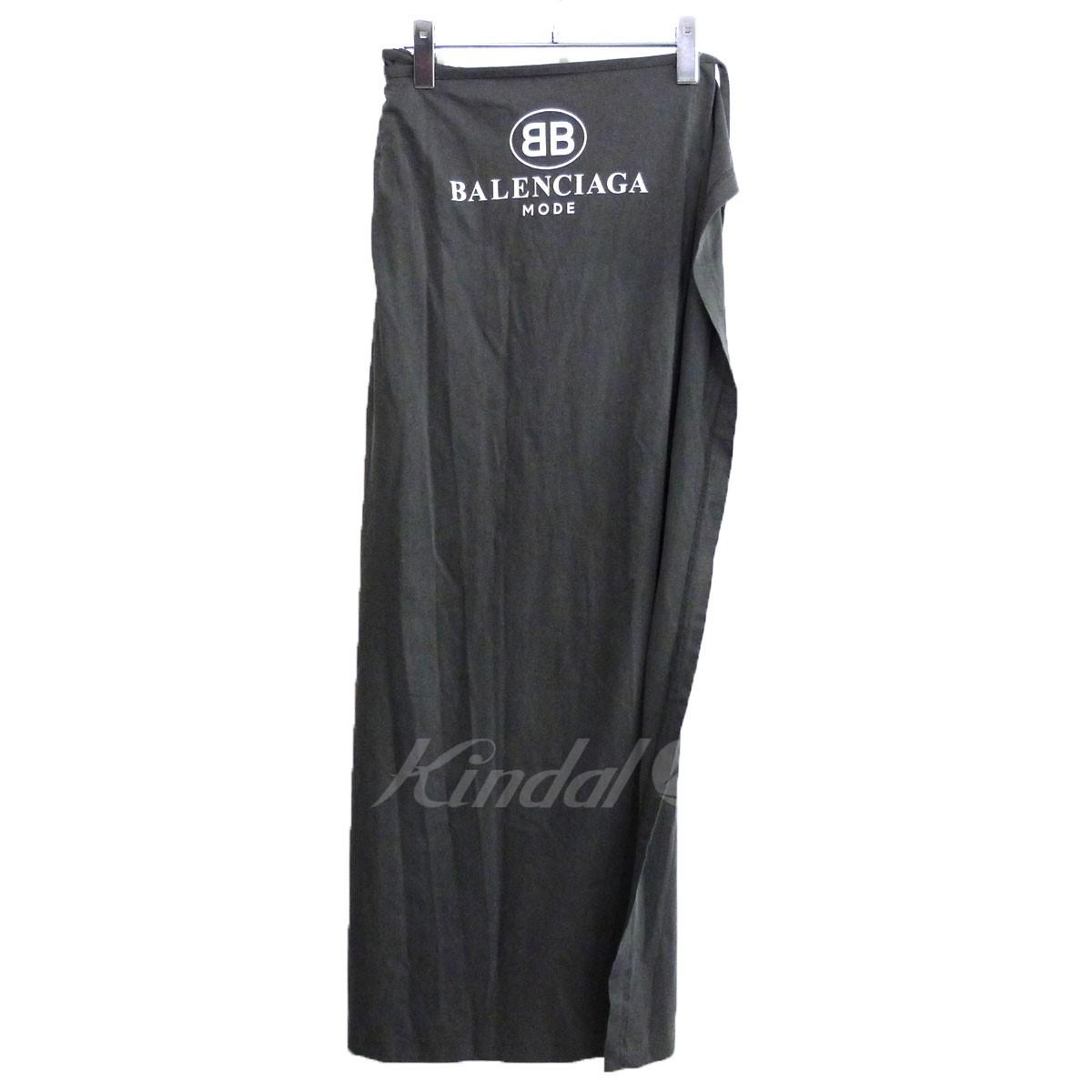 【中古】BALENCIAGA ロングスカート 【送料無料】 【127059】 【KIND1550】