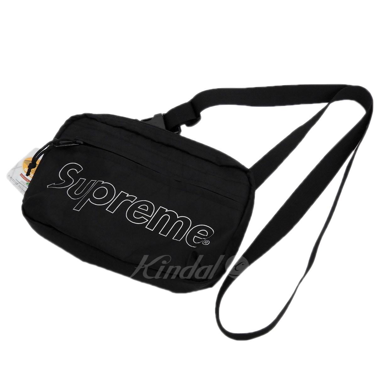 【10月15日 お値段見直しました】【中古】SUPREME2018AW 「Shoulder Bag」ショルダーバッグ ブラック 【送料無料】